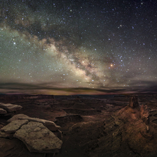 Canyonlands Milkyway - Full Spectrum Astro-Modified Canon EOS 5DS 01