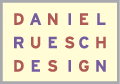 Daniel Ruesch Design, Inc. logo, Utah Graphic Designer, Website Design, Logo Design, Brochure Design, and Advertising
