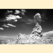 Arches National Park - Balancing Rock I (Print)
