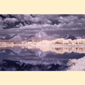 Grand Tetons National Park - Oxbow Bend I (Color IR - Print)