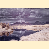 Grand Tetons National Park - Oxbow Bend II (Color IR - Print)