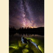 01 - Crystal Lake and Milkway - (Print)