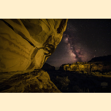 11 - Southern Utah Pictographs & Milky Way (Print) 03