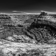 Southern Utah Canyon - Black and White IR - Small 03