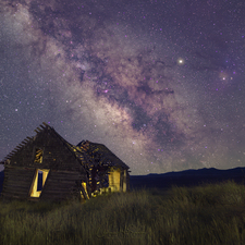 Lonely Cabin and Milky Way Canon EOS 6D Mark II Full Spectrum - Irix 15mm