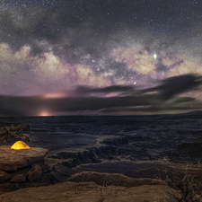 Milky Way and Amazing View - Full Spectrum Canon EOS 6D Mark II