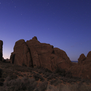 Arches National Park (Visible + H-Alpha Filter) 01