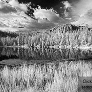 Scout Lake (665nm - B&W Converted)
