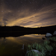 3 - Crystal Lake and Sunset - Full Spectrum Astro-Modified Canon EOS 6D