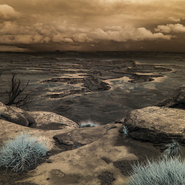 Green River Overlook, Canyonlands N.P. Utah - Full Spectrum Astro-Modified Canon EOS 6D, 665nm on-lens filter.