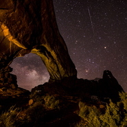 09 - Windows Arch and Milky Way, Arches N.P. Utah - Full Spectrum Astro-Modified Canon EOS 6D,