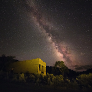 13 - Southern Utah Ghost Town and Milky Way, Utah - Full Spectrum Astro-Modified Canon EOS 5DS.