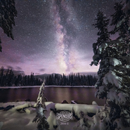 Snowy Crystal Lake & Milky Way 03 - Full Spectrum Canon EOS 5DS