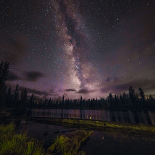 Butterfly Lake and Milky Way - Full Spectrum Canon EOS 5DS