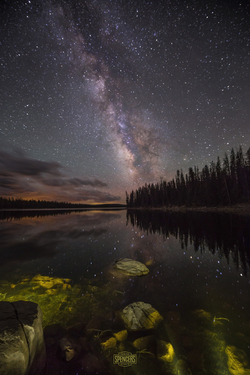 02 - Lost Lake and Milky Way (Print) 01