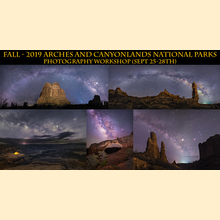 2019 - Fall - Moab, Arches and Canyonlands Photography Workshops (Sept 25-28th)